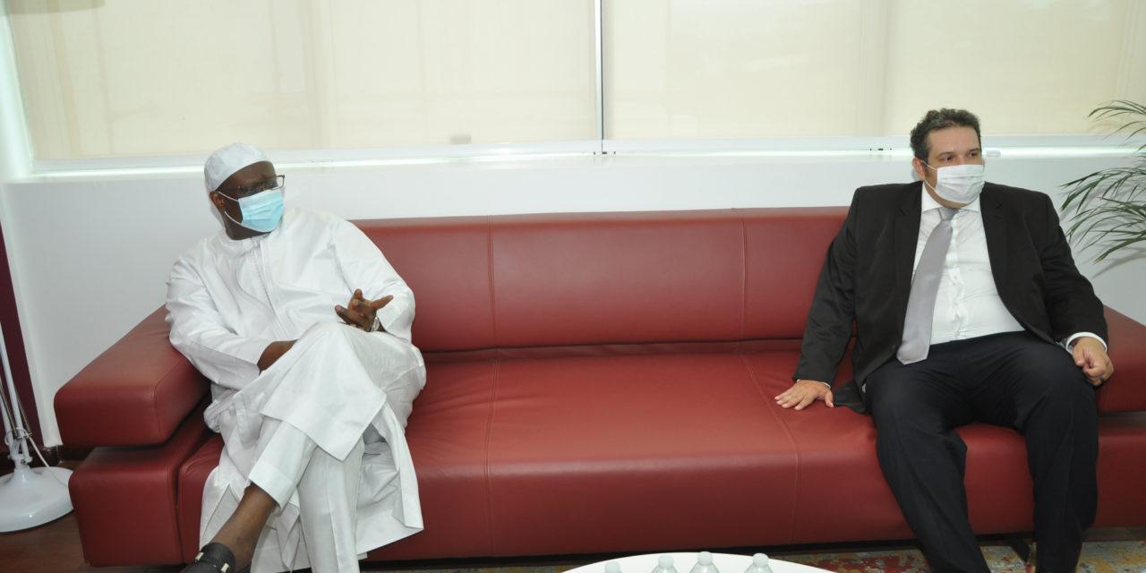 """Mouhamadou M. Cissé aux 20 ingénieurs sénégalais… : """"Le contenu local commence par vous, …."""""""