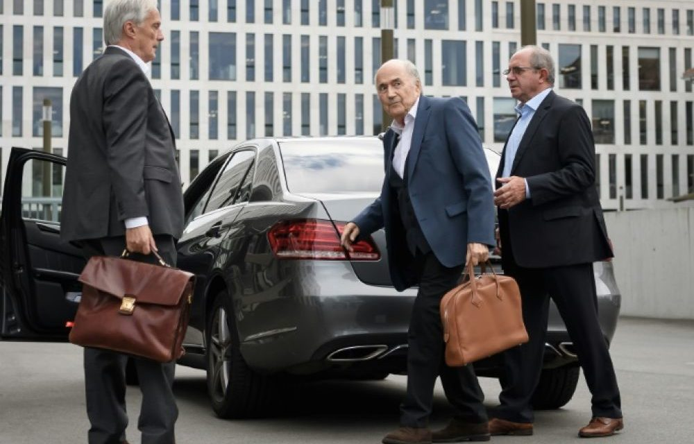 FIFA – Après Platini, Blatter face à la justice suisse
