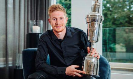 ANGLETERRE – De Bruyne élu meilleur joueur de la saison