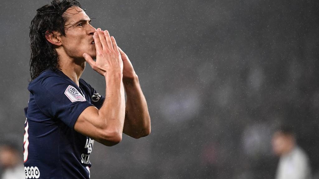 PSG – Le message d'adieu de Cavani