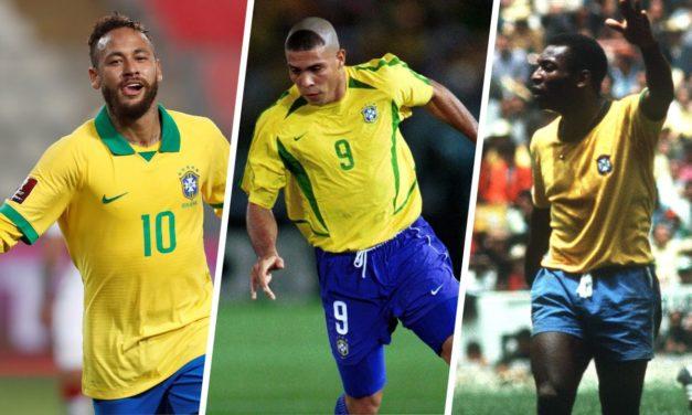 BRESIL – Neymar dépasse Ronaldo !