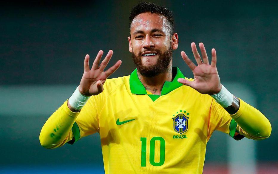 BRÉSIL – Auteur d'un triplé, Neymar dépasse Ronaldo