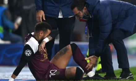 PSG – Blessé aux adducteurs, Neymar forfait les trois prochains matches