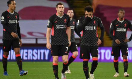 PREMIER LEAGUE – Liverpool humilié par Aston Villa (7-2)