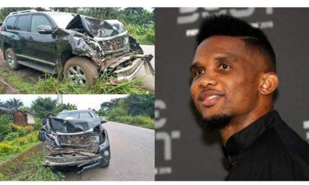 CAMEROUN – Samuel Eto'o victime d'un accident de la route