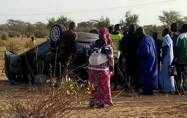 GUETH ARDO – Un accident fait deux morts et plusieurs blessés
