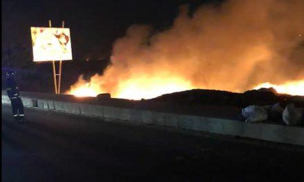 INCENDIE AU TECHNOPOLE – Les pompiers ont mis 5 heures pour maîtriser le feu