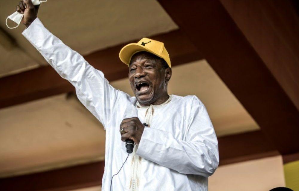 GUINEE – Alpha Condé définitivement proclamé