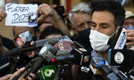 """ENQUETE SUR LE DECES DE MARADONA – Son médecin dit avoir """"fait l'impossible"""""""