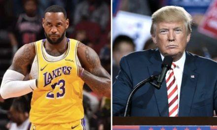 NBA – En roue libre, Donald Trump flingue LeBron, la foule se déchaîne !