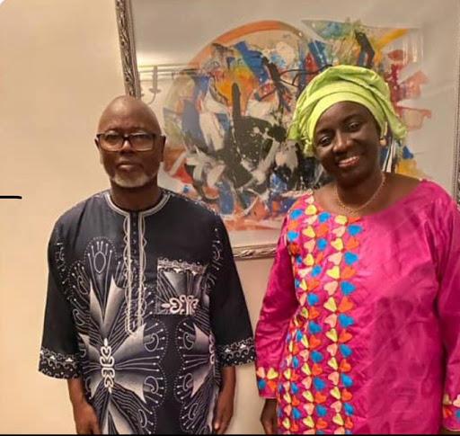 VISITE DE COURTOISIE  – Aminata Touré chez Alioune Tine