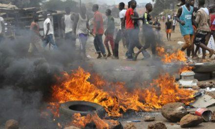 GUINEE – Au moins 11 morts dans des heurts communautaires