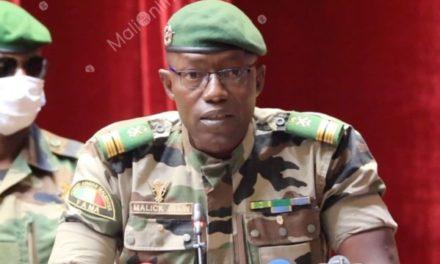 MALI – Le colonel Malick Diaw élu à la tête du Conseil de transition