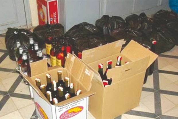 CONTREBANDE ET FRAUDE – 1361 cartons de vin et 6 conteneurs d'huile saisis