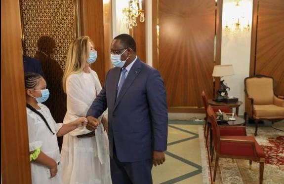 AUDIENCE  – Macky Sall a reçu la famille de Pape Bouba Diop