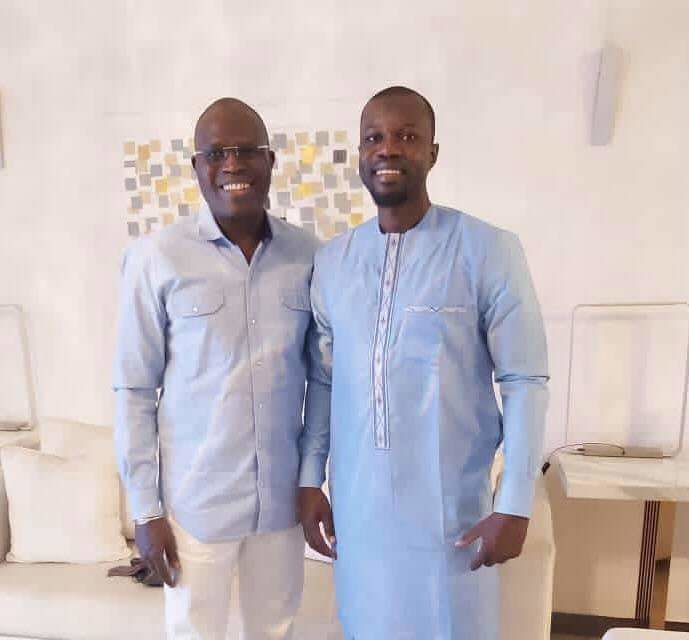 OPPOSITION – Khalifa Sall rencontre Ousmane Sonko