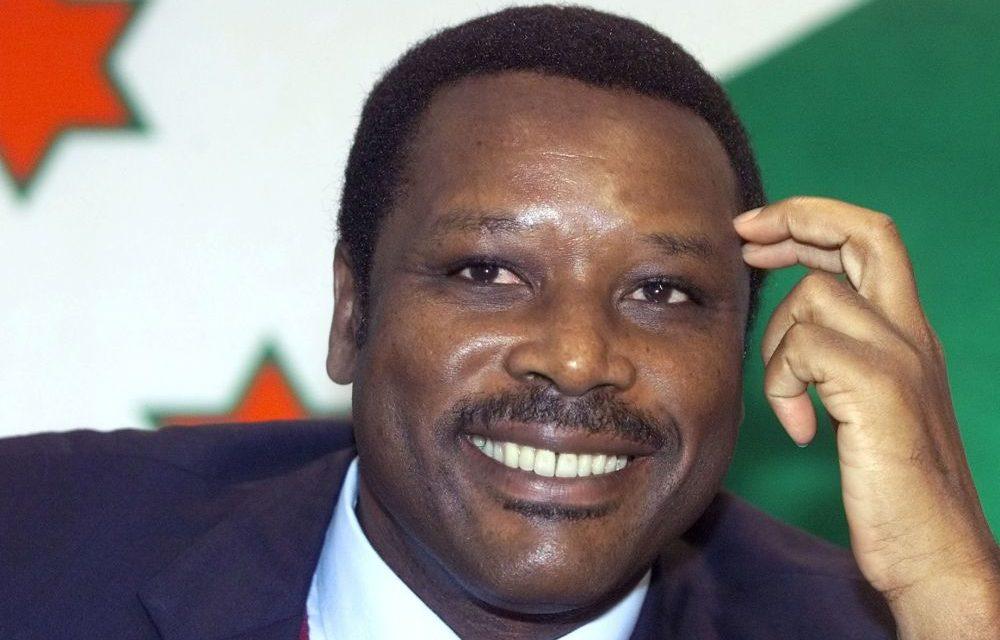 BURUNDI – Décès à 71 ans de l'ancien président Pierre Buyoya