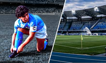 NAPLES – Le stade San Paolo porte le nom de Diego Armando Maradona