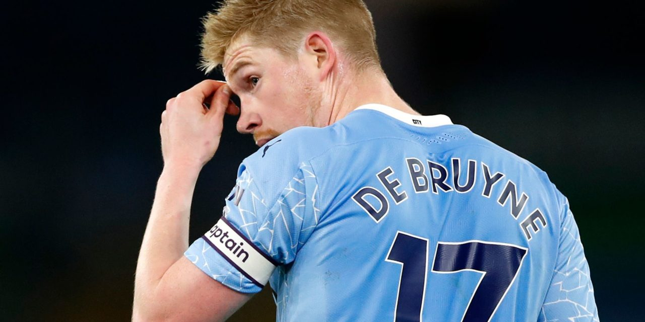 MANCHESTER CITY – Kevin De Bruyne out 4 à 6 semaines