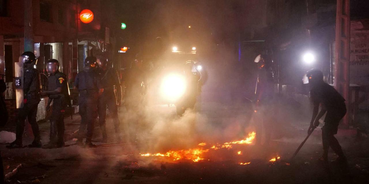 MANIFS ANTI-COUVRE-FEU  – Des nervis pour casser les manifestants