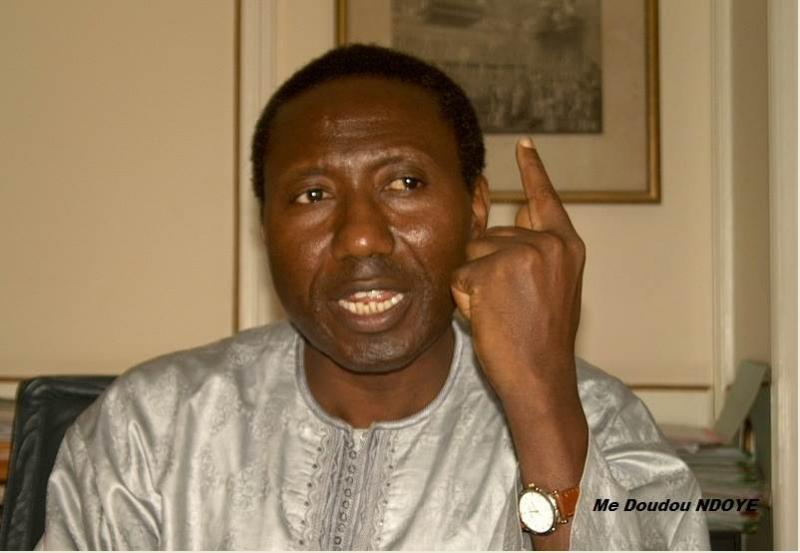 """Me DOUDOU NDOYE – """"Au Sénégal, c'est la Constitution française qui a été recopiée pour être africanisée"""""""