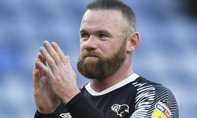 OFFICIEL – Wayne Rooney arrête sa carrière et devient coach de Derby County