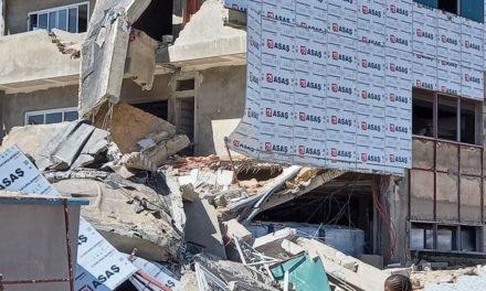 KHODBA : L'effondrement d'un bâtiment fait six blessés