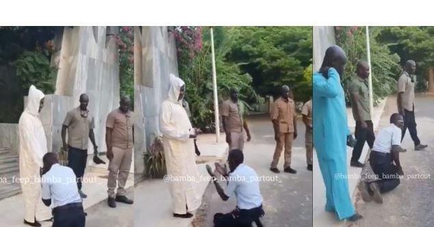 POLICE NATIONALE – L'agent qui s'est agenouillé devant Kara radié