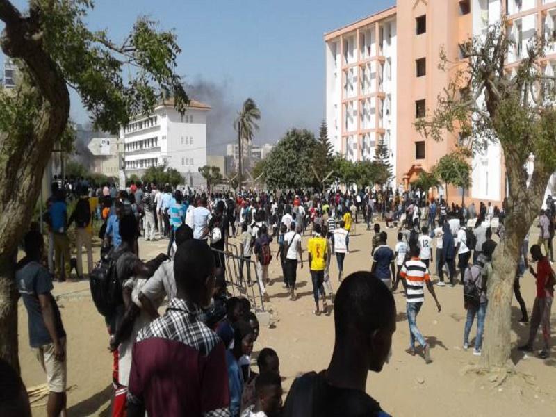 UNIVERSITE DE DAKAR – Affrontements entre pro-Sonko et pro-Macky