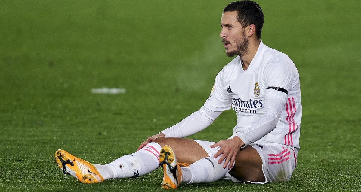 REAL MADRID  – Hazard encore blessé