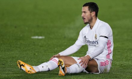 REAL MADRID  – Hazard encore blessé