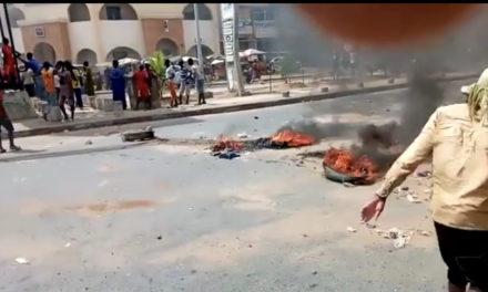 LEVEE DE L'IMMUNITÉ PARELMENTAIRE DE SONKO – Des manifestations aux Parcelles Assainies et à Rufisque