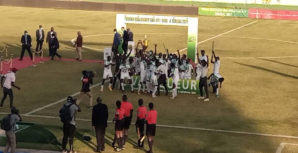 TOURNOI UFOA U17 – Le Sénégal sacré champion de la zone A