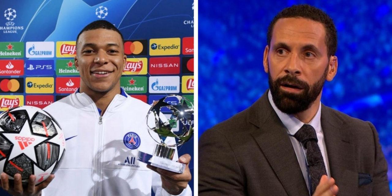 """RIO FERDINAND – """" Mbappé va prendre le trône à Messi et Ronaldo"""""""