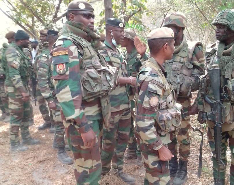 IMAGES – L'armée reprend les 4 dernières bases du front Sud