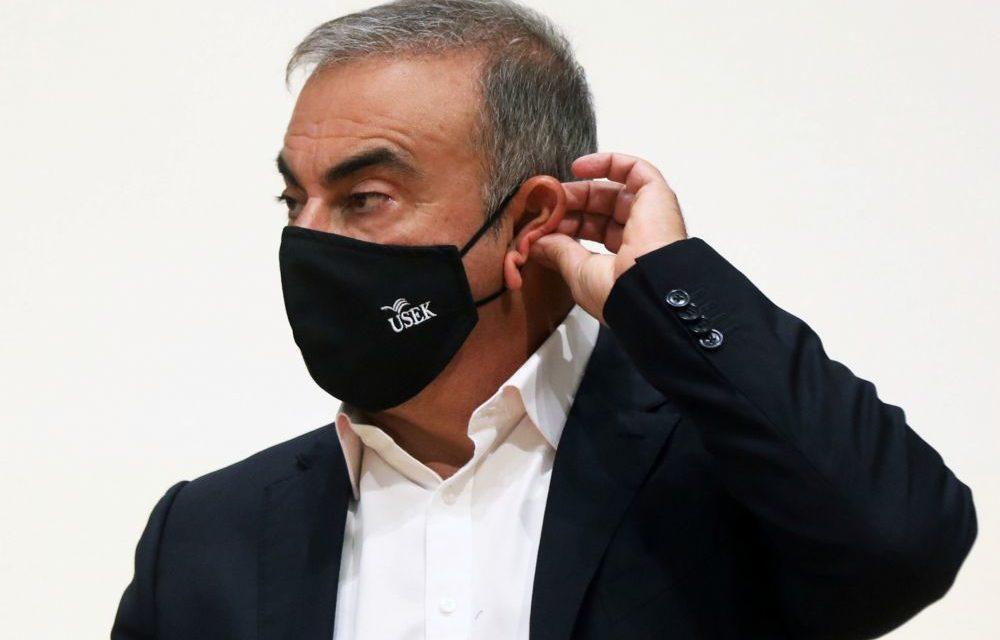 BEYROUTH – Carlos Ghosn interrogé par des juges français