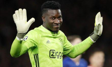 AJAX – André Onana, suspendu un an pour dopage