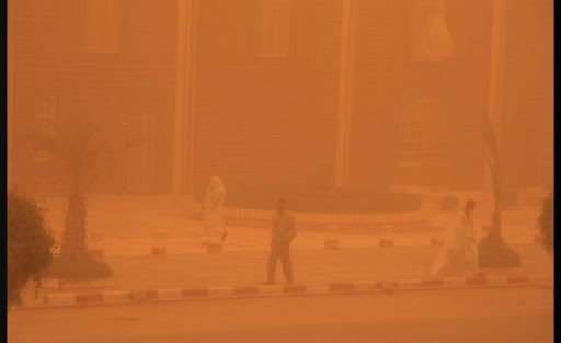 ANACIM – Alerte à la poussière et une dégradation de la qualité de l'air