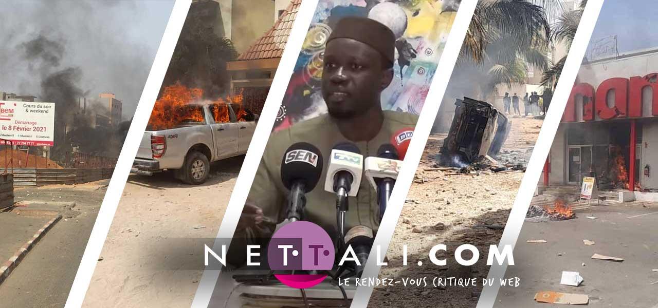 EMEUTES DE MARS – Le Mémorandum qui accable l'Etat du Sénégal