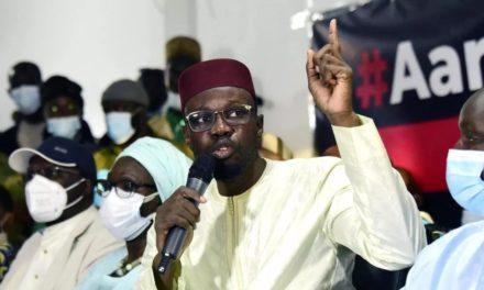"""JUSTICE – Ousmane Sonko exige la libération des """"détenus politiques"""""""
