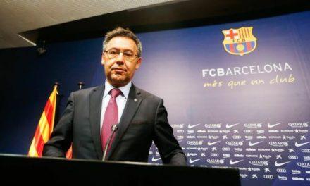 FC BARCELONE – Josep Maria Bartomeu arrêté