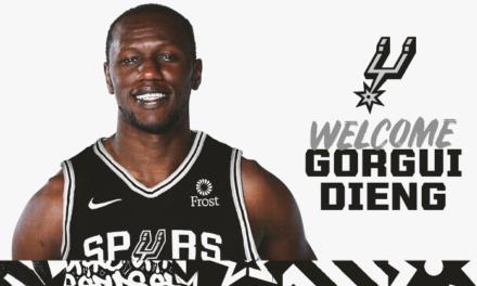 NBA – Gorgui Sy Dieng débarque à San Antonio!