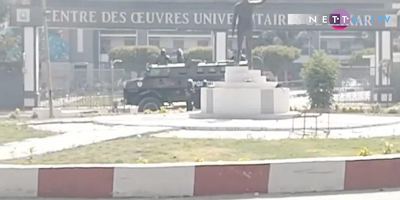 VIDEO – ça chauffe à l'Université de Dakar