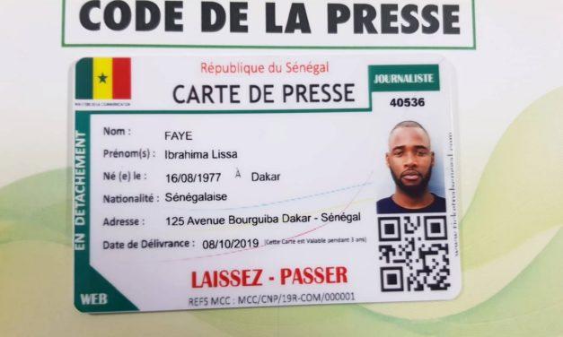 Les dépôts pour la carte nationale de presse démarrent le 15 mars