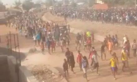 VIDEO – ZIGUINCHOR – Une marée humaine dans la rue pour soutenir Sonko