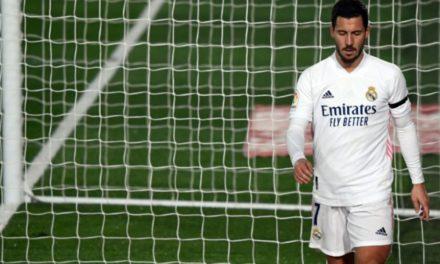 """C1 – Hazard encore blessé, """"je ne peux pas l'expliquer…"""", se désole Zidane (Real Madrid)"""