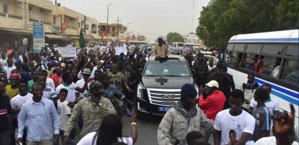 MERMOZ – Le convoi de Ousmane Sonko dispersé