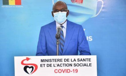 CORONAVIRUS AU SÉNÉGAL – 34 nouveaux cas, 2 décès et en 176 sous traitement