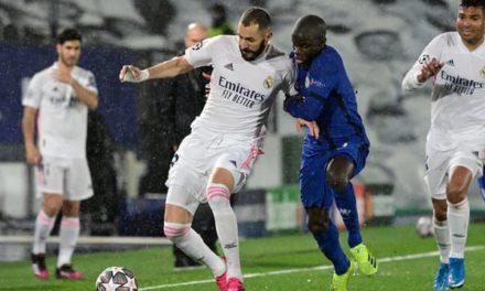 C1 – Le Real Madrid tremble devant Chelsea (1-1)