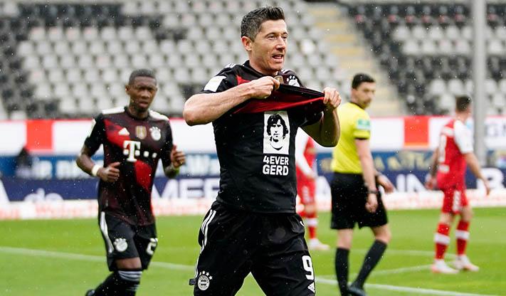 BUNDESLIGA – Lewandowski égale Gerd Müller !